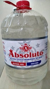 Álcool Gel P/mãos Bactericida E Germicida 70ºinpm 5lts