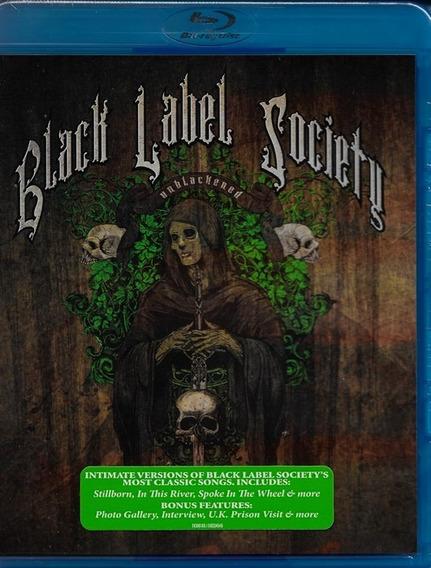 Blu-ray Black Label Society Unblackened Original Zakk Wylde
