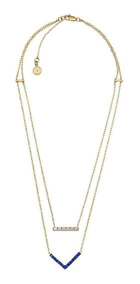 Collar Michael Kors Mkj4999710 Joyeria Coleccion Parisian