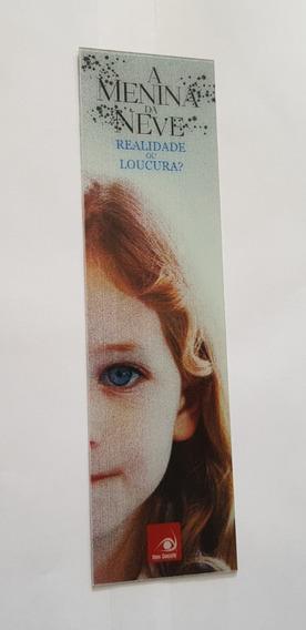 Marca Pagina Holográfica - A Menina Da Neve