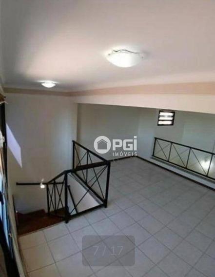 Cobertura Com 3 Dormitórios Para Alugar, 131 M² Por R$ 1.700,00/mês - Santa Cruz Do José Jacques - Ribeirão Preto/sp - Co0092