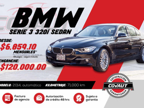 Bmw Serie 3 2.0 320i Luxury 2014 Credito!!!