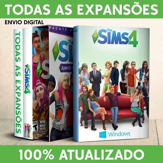 The Sims 4 + Todas As Expansões, Pacotes E Coleções