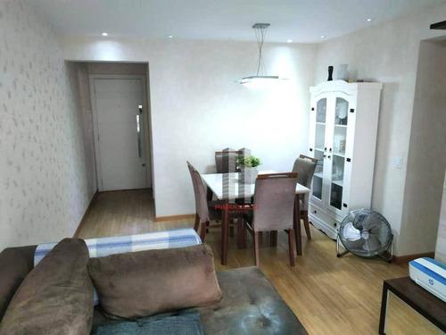 Apartamento Com 3 Dormitórios À Venda, 76 M² Por R$ 700.000 - Parque Da Mooca - São Paulo/sp - Ap2952