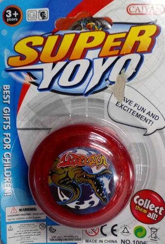 Yoyo Plastico Luminoso Ath 0909a
