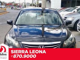 Honda Accord 2.4 Lx Sedan L4 Tela Mt
