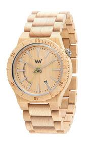 Relógio De Madeira Wewood - Assunt Beige - Wwas01