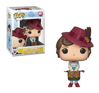 Funko Pop 467 Mary Poppins Returns - Mary With Skirt Bag