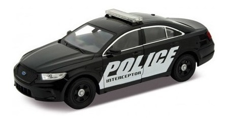 Auto 1:24 Ford Police Interceptor Welly Lionels 4045