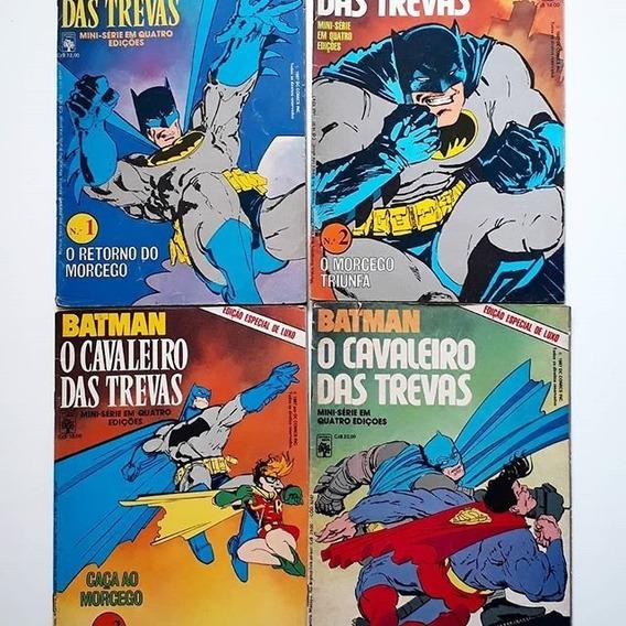 Batman O Cavaleiro Das Trevas (1987) Minissérie Em 4 Edições