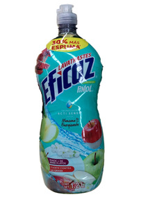 14 Botellas Jabon Para Trastes Liquido Eficaz Pinol 1.2l