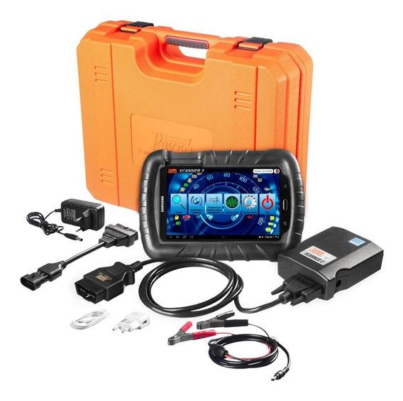 Scanner Automotivo 3 Starter Com Tablet De 7 Pol. E Maleta-r