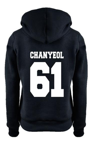 Blusa Kpop Exo Chanyeol 61 Moletom Casaco Moleton