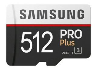 Samsung 512 Pro Plus Cartão De Memória Micro Sd Promoção