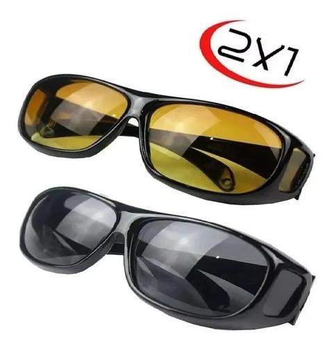 Gafas Vision Hd / 2 Gafas Dia - Noche