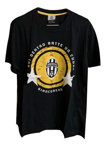 Remera Algodon Juventus Deportiva Futbol Clubes