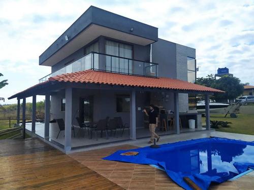 Casa Duplex Com Piscina E Vista Da Lagoa Palminhas E Haras.