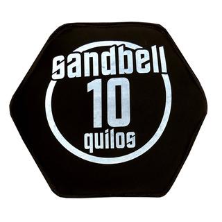 Sandbell 10kg Para Treinamento Funcional Neoprene Preto Acte