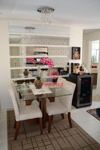 Apartamento Com 2 Dormitórios À Venda, 54 M² Por R$ 240.000 - Dois Córregos - Piracicaba/sp - Ap2627