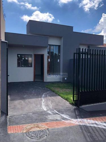 Imagem 1 de 8 de Casa À Venda, 68 M² Por R$ 202.000,00 - Parque Residencial Elizabeth - Londrina/pr - Ca2193