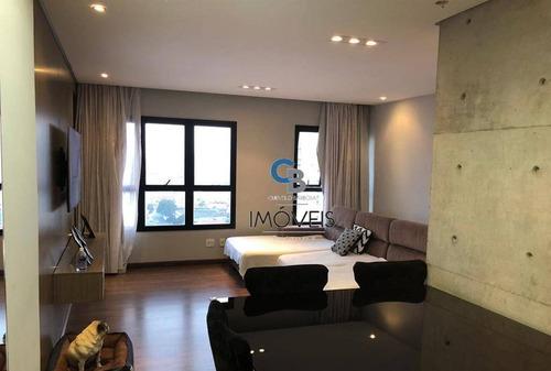 Imagem 1 de 15 de Apartamento À Venda, 70 M² Por R$ 690.000,00 - Anália Franco - São Paulo/sp - Ap7295