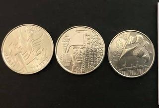 Colección De 3 Monedas Ucrania Actual