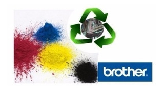 Polvo De Toner Color Premium Compatible Brother 100grs