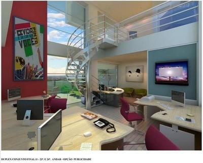 Otimo Duplex Comercial Para Locação, Jardim Ana Maria,excelente Localização - Cj0004
