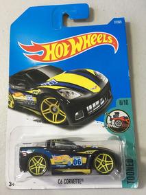 Hot Wheels - C6 Corvette - Tooned - Preta