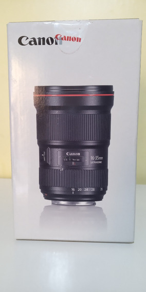 Lente Canon 16-35 2.8 Liii