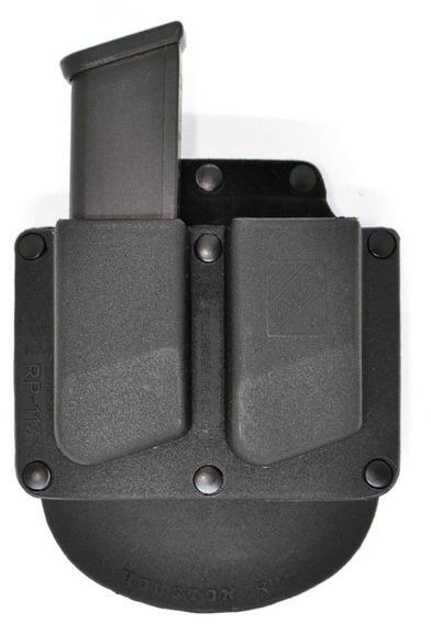 Porta Cargador Doble Rigido Houston Fijo Polimero Rp113g
