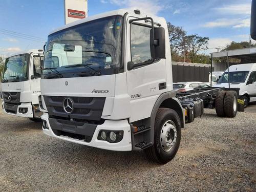 Mercedes Benz Atego 1726 Largo 7200 Cc   Blanco