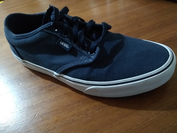 Zapatillas Vans Azules Usadas Perfecto Estado