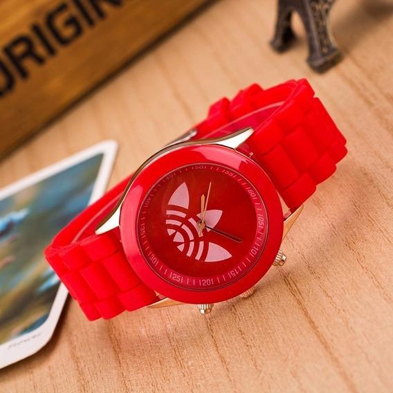 Relógio adidas Feminino Diversas Cores Colorido Vermelho