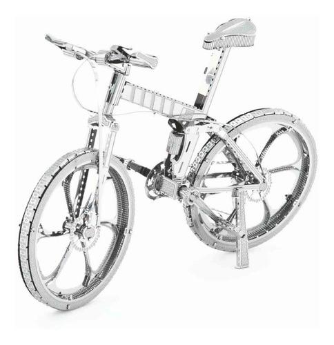 Bicicleta Rompecabezas Metálico 3d En Stock! Envío Ya!