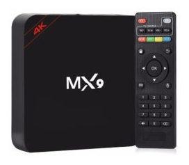 Tv Box Mx9 4k 16gb Rom 2gb Ram Com 1 Ano Tv Grátis Promoção