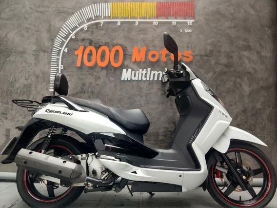 Dafra Citycom 300 I 2016 Otimo Estado Aceito Moto