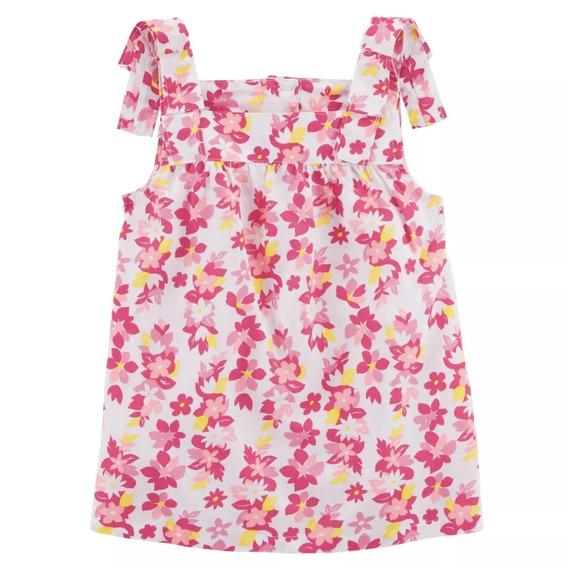 Carters Blusa Alcinha Menina Floral Verão 3 Meses