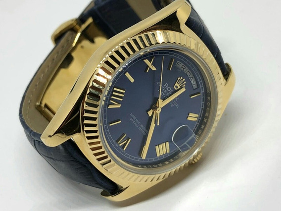 Rolex Day/date Oyster Perpetual 41 Mm Blue Dial