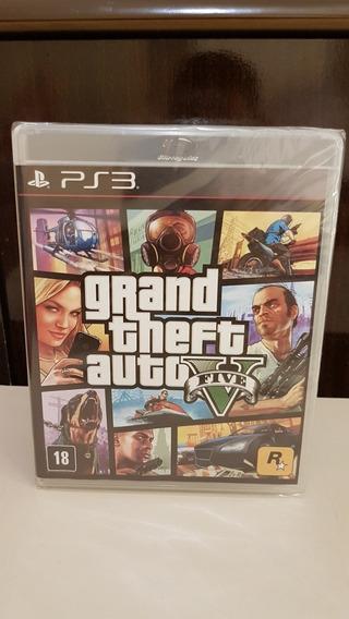 Gta 5 Grand Theft Auto V Ps3 Playstation 3 Novo Lacrado