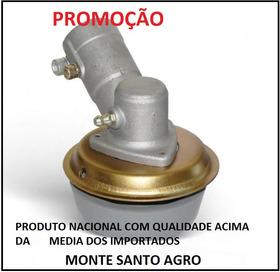 Transmissão Ponteira Roçadeira Trapp Master 1000 26mm Quad..
