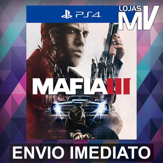Mafia 3 - Ps4 Código 12 Dígitos Playstation 4
