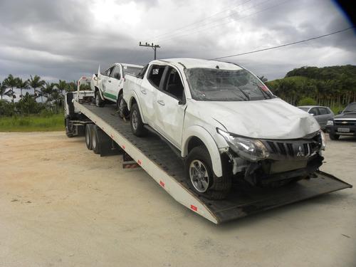 Sucata Mitsubishi New Triton  2.4 Sport Hpe 4x4 Aut 2017