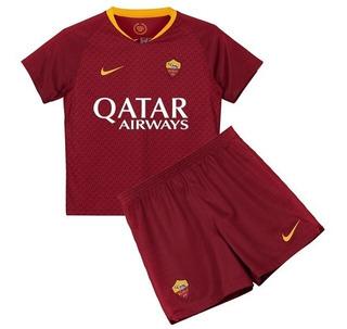 Camisa Roma Dzeko 9 Infantil 18/19 - Promoção