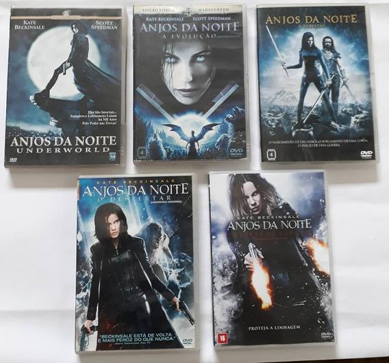 Dvd Coleção Completa - 5 Filmes Anjos Da Noite