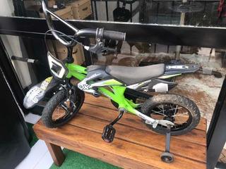 Bicicleta Xterra Rodado 12 (tipo Motocross)