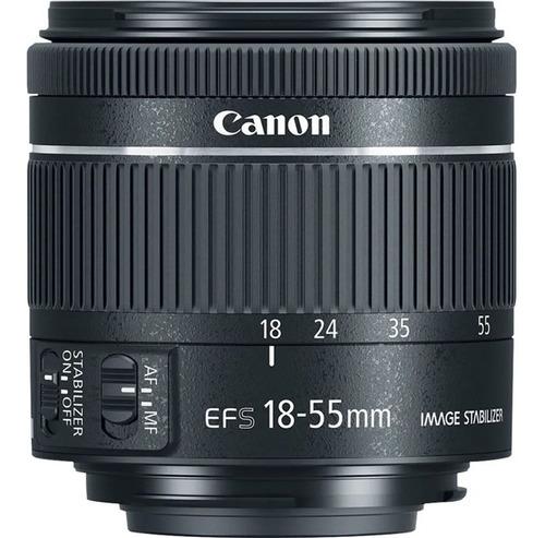 Lente Canon Ef-s 18-55mm F/4-5.6 Is Stm Pronta Entrega