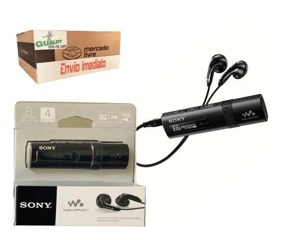 Mp3 Sony Walkman Nwz-b183 Flash-media 4gb Fm Lcd Original 2