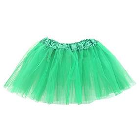 0a5683caf Belababy Girl Faldas 3 Capas Organza Baby Tutu, 2-8, Verde