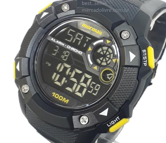 Relógio Mormaii Mocam1360ab/8y Mocam1360ab 8y Preto Pulso